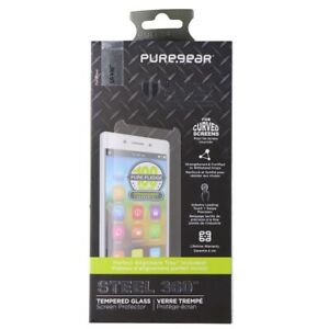 PureGear Steel 360 Series Tempered Glass Screen Protector for LG V30
