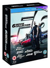 Fast & Furious - 6 Movie Collection [Blu-Ray Boxset] Vin Diesel