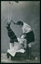 bb French nude woman 2nd choice condition Biederer original 1920s photo postcard