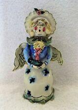 Blue Sky Clayworks Tea Light Angel Cl20030 by Heather Goldminc 2001 Retired