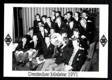 Borussia Mönchengladbach Deutscher Meister 1971 TOP
