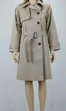 ASOS PETITE Women's Stone Classic Mac Coat Jacket UK SIZE 10 38 RRP £75