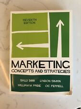 Marketing Concepts And Strategies Seventh Edition