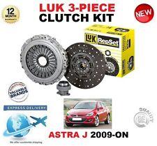 FOR OPEL ASTRA J 1.6 Turbo 2009-ON ORIGINAL LUK 3 PIECE CLUTCH KIT OE QUALITY