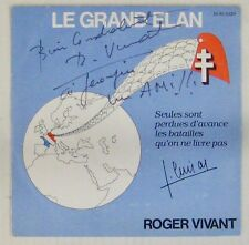 Le Grand Elan 45 tours Roger Vivant RPR