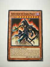 Yu-Gi-Oh Card: Magician of Dark Magic LCYW-EN029 Common Light Play