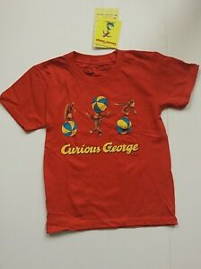 Out Of Print KIDS S/S T-Shirt Curious George