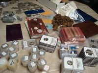 BIG COLLECTION OF COINS SEE DESCRIPTION, SILVER, MINT, PROOF, PR70 COIN #1