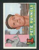 1960 Topps #15 Pete Runnels EX/EX+ Red Sox 84806