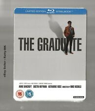 THE GRADUATE - UK EXCLUSIVE BLU RAY STEELBOOK - NEW & SEALED
