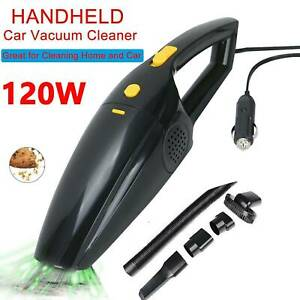 Professional 120W Car Vacuum Cleaner Wet Dry 12V Handheld 6in1 Portable Powerful