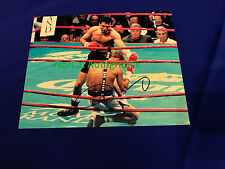 Oscar De La Hoya Hand Signed Autograph 8x10 Photo Boxing Champ 100% Authentic 2