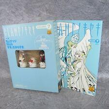 CLAMP NO KISEKI 7 CHOBITS WISH w/Figure Art Fanbook Book KO*