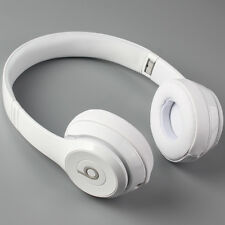 Beats by Dre Solo3 On-Ear Bluetooth Wireless Adjustable Headphones - White
