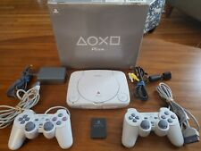 Sony Playstation PS One Video Game Console SCPH-101 W/BOX & EXTRA CONTROLLER
