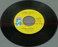 "1969 Soul BOOKER T & MG'S Time Is Tight/Johnny, I Love You VG 7"" 45"