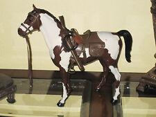 Marx Johnny West Horse Custom Vintage (WESTERN BROWN SADDLE TACK) LQQKS NICE!!!!