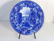 Wedgwood Blue And White Historical Plate State St. And Old State House
