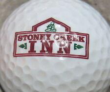 (1) STONEY CREEK INN HOTEL MOTEL LOGO GOLF BALL
