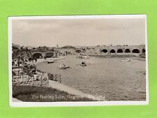 The Boating Lake Skegness (B) RP pc unused C & A G Lewis Robin Hood Ref E537