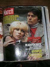 Paris Match N° 1609 28/3/1980 Darc Delon Mickey Rooney Nadine Trintignant