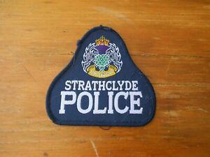 Scottish Police patch STRATHCLYDE police