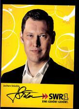 Jochen Stöckle SWR Autogrammkarte Original Signiert ## BC 55301
