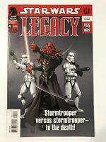 STAR WARS: LEGACY #4 (2006) | 1ST FIRST DARTH MALEVAL; HUGHES COVER; DARK HORSE