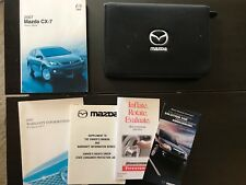 2007 Mazda CX-7 Owners Manual With Case OEM Free Shipping