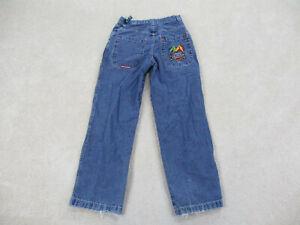 VINTAGE JNCO Jeans Pants Men 28 Blue Joker Jester Denim Goth Baggy Mens 90s*