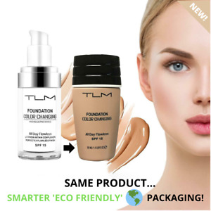 FOUNDATION TLM Flawless Colour Changing Makeup Face Skin Tone Matching Concealer