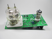 6N2+FU32 Tube HIFI Stereo Power Amplifier Finished board 3.5W*2