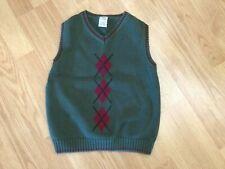 """Gymboree"" size Xx-large ( 7 yrs.) green sweater vest"