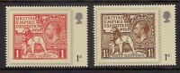 GB 2010 sg3067-68 London Festival Of Stamps 1924 British Empire Exhibition MNH