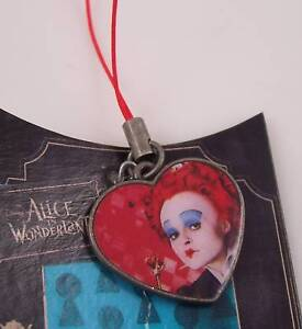 Disney's Red Queen Alice in Wonderland cell phone charm