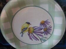 Lenox Summer Greeting Golden Finch Plate