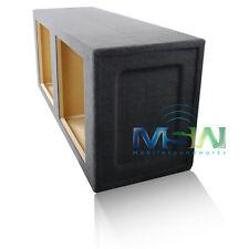 """SEALED 15"""" MDF DUAL KICKER S15L7 S15L5 S15L3 SQUARE WOOFER SPEAKER BOX ENCLOSURE"""