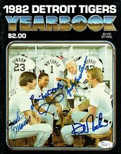 Detroit Tigers 1984 Legends reprinted 8x10 autograph signed photo KIRK GIBSON!