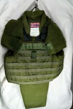 Point Blank bullet proof vest with shoulders and groin carriers
