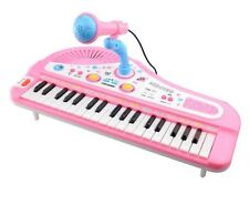 Kids Electronic Piano Keyboard Educational Music Toy With Microphone 37 Keys