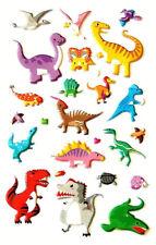 klein Dinosaurier dekorativ 3D Sticker für Kinder & Karte machen - rcd7053