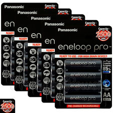 20 x Panasonic Eneloop PRO AA batteries 2500mAh Rechargeable High capacity Ni-MH