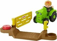 Fisher-Price Little People Helpful Harvester Tractor Playset New