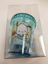 Sanrio Pochacco Cup Paper Clip Holder With Magnet Dispenser