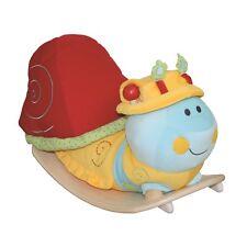 Roba Kids Schaukelraupe Schaukeltier mit abnehmbarem Hut NEU Holzspielzeug