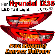 New Red LED Rear Break Tail Light Lamp 4PCS Assy For Hyundai IX35 2010 2011 2012