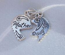 Charm (s) de charms de joyería de plata de ley en familia y amigos