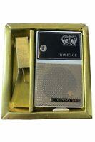 Vintage Coronet Windsor Deluxe Transistor Radio With Box