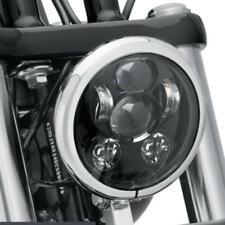 Motorcycle 5-3/4 5.75 Inch 45W Projector LED Headlight For Harley Davidson