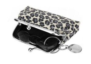 Leopard Print Coin Purse Mini Handbag Pouch